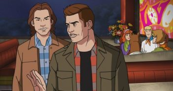 "Supernatural -- ""ScoobyNatural"" -- Image Number: SN1316c_0004.jpg -- Pictured (L-R): Sam and Dean -- Photo: The CW -- © 2018 Warner Bros. Entertainment Inc."